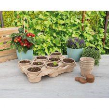 Eco kweektray incl. 8 pots