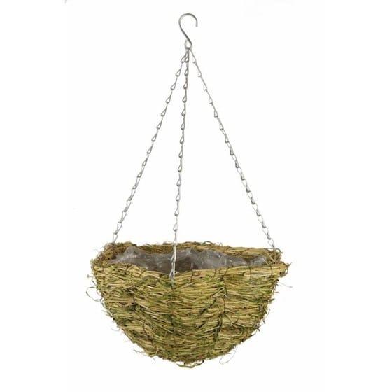 Gardman Hanging Basket Gras Schelpvormige Hangpot 35cm