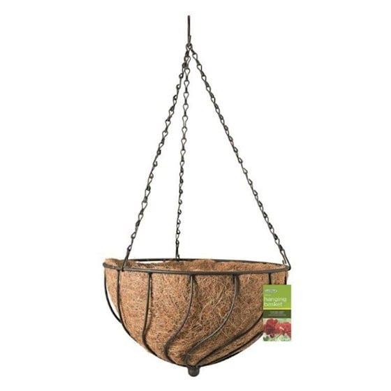 Gardman Spiral Hanging Basket +inleg 35cm